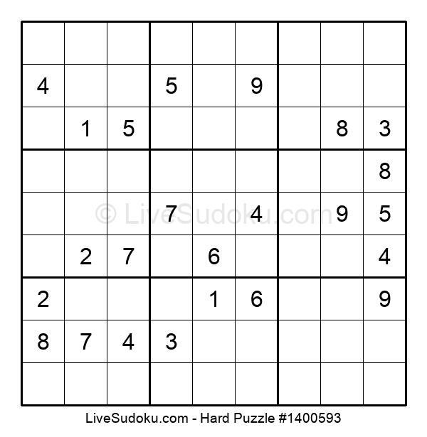 Hard Puzzle #1400593