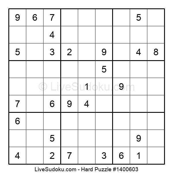 Hard Puzzle #1400603