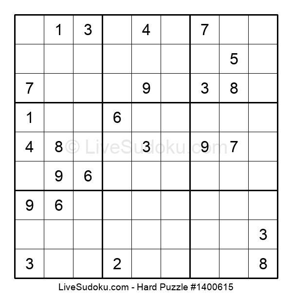 Hard Puzzle #1400615