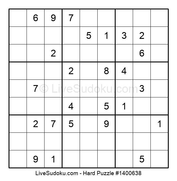 Hard Puzzle #1400638