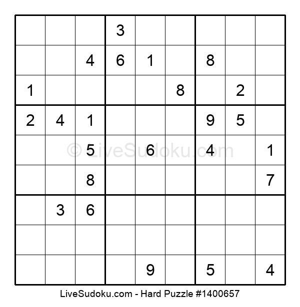 Hard Puzzle #1400657