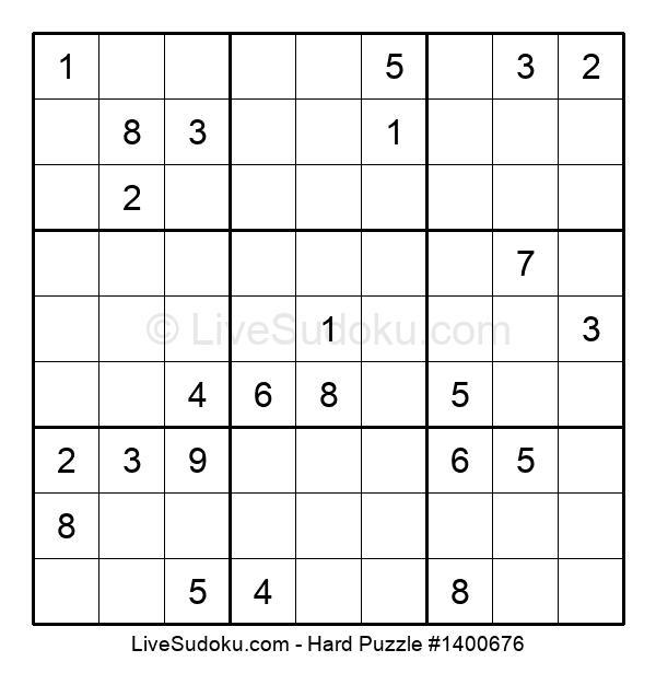 Hard Puzzle #1400676