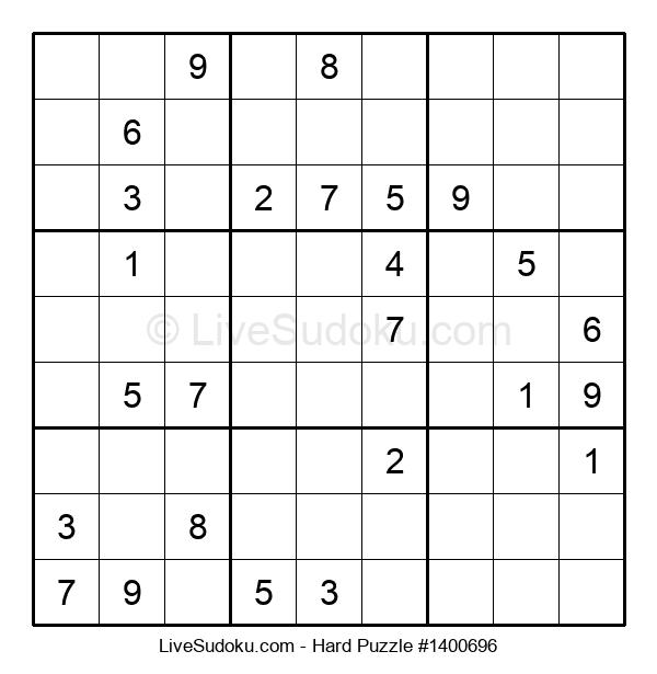 Hard Puzzle #1400696
