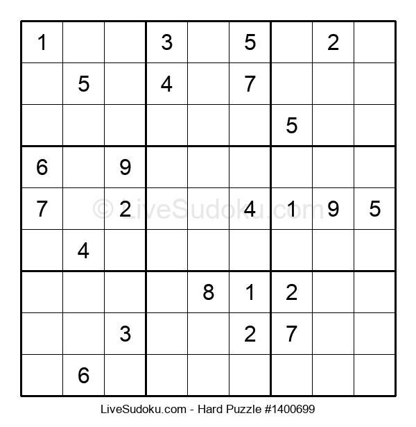 Hard Puzzle #1400699