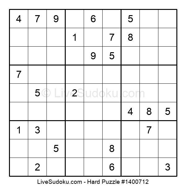Hard Puzzle #1400712