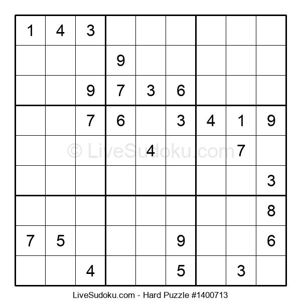 Hard Puzzle #1400713