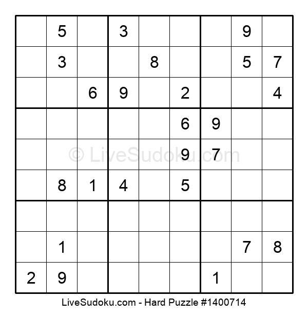 Hard Puzzle #1400714
