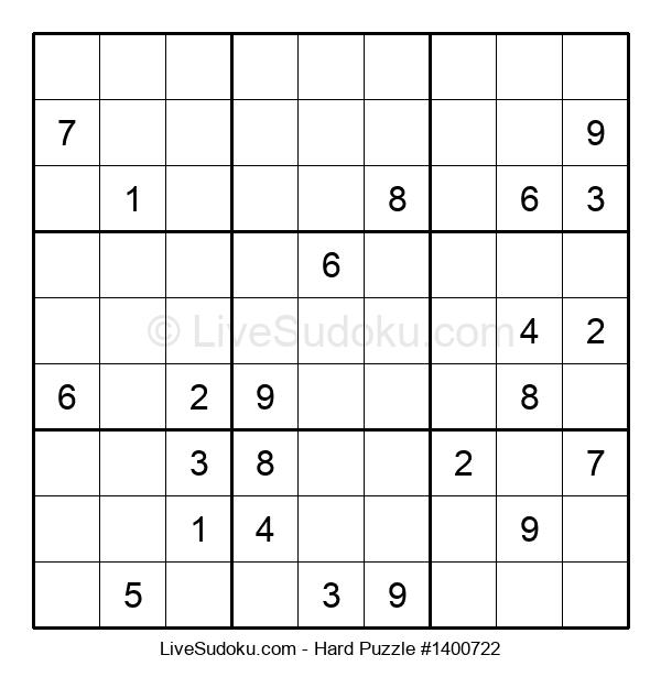 Hard Puzzle #1400722