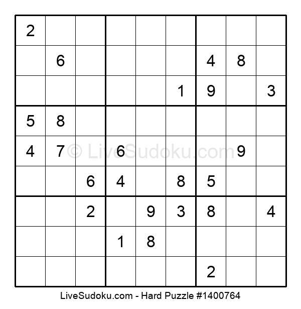 Hard Puzzle #1400764
