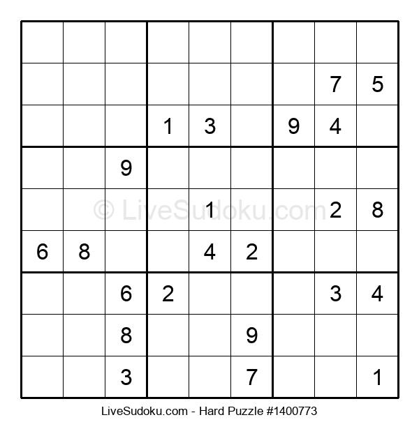 Hard Puzzle #1400773