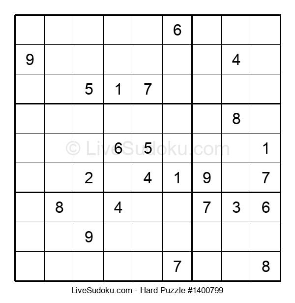 Hard Puzzle #1400799