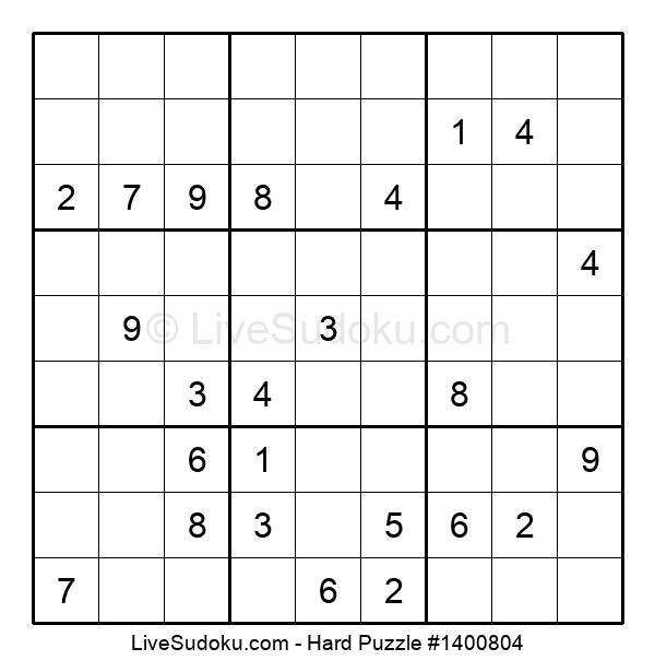 Hard Puzzle #1400804
