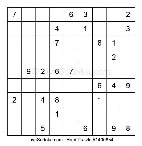Hard Puzzle #1400854