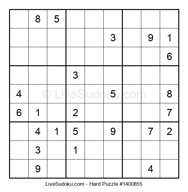 Hard Puzzle #1400855