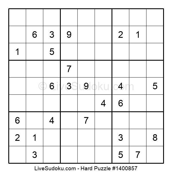 Hard Puzzle #1400857