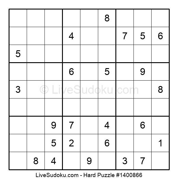 Hard Puzzle #1400866