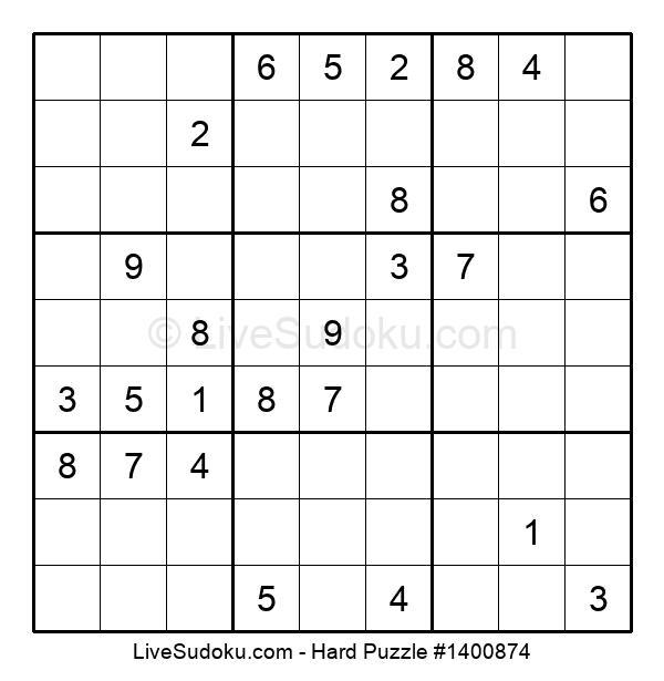 Hard Puzzle #1400874