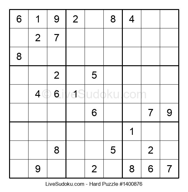 Hard Puzzle #1400876