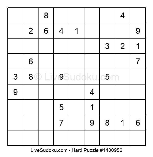 Hard Puzzle #1400956