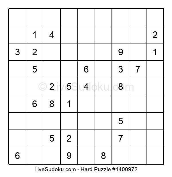 Hard Puzzle #1400972