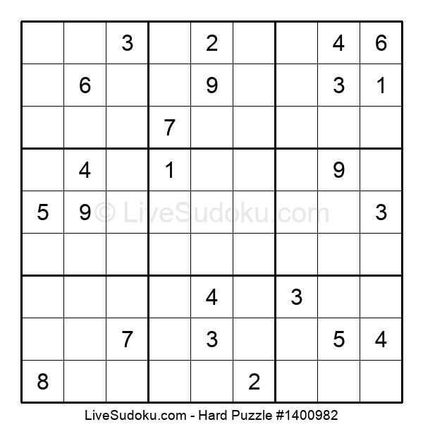Hard Puzzle #1400982