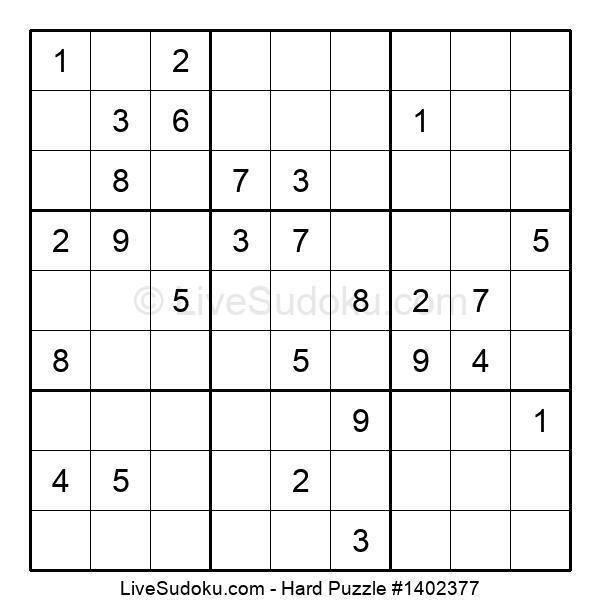 Hard Puzzle #1402377