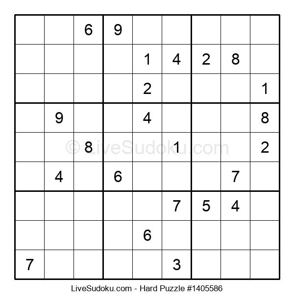 Hard Puzzle #1405586