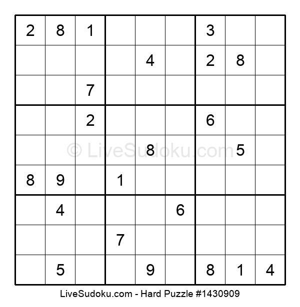 Hard Puzzle #1430909