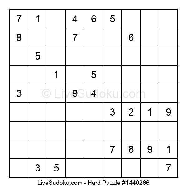 Hard Puzzle #1440266