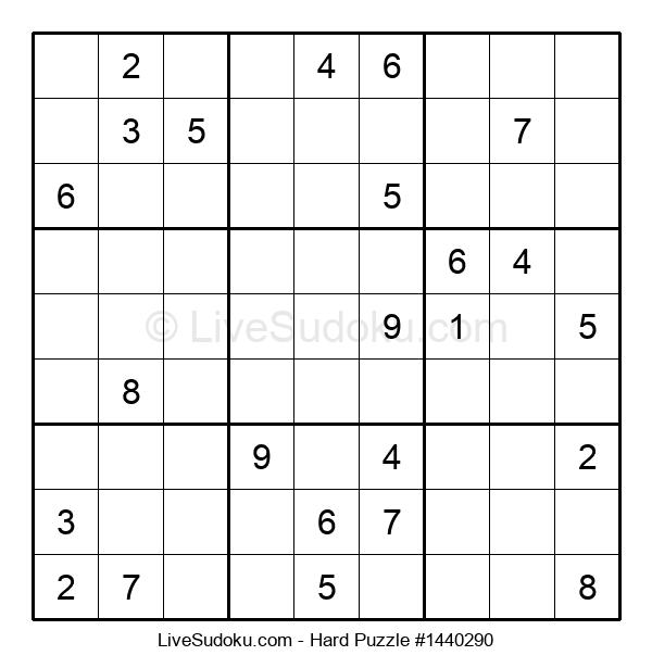 Hard Puzzle #1440290