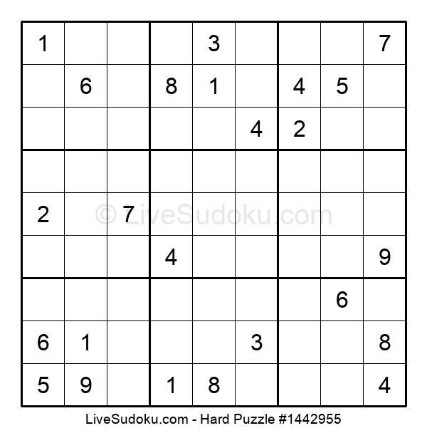 Hard Puzzle #1442955