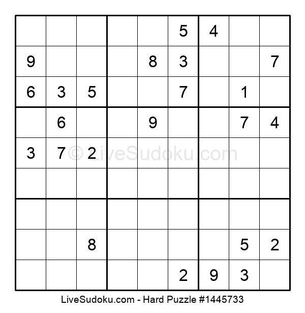 Hard Puzzle #1445733