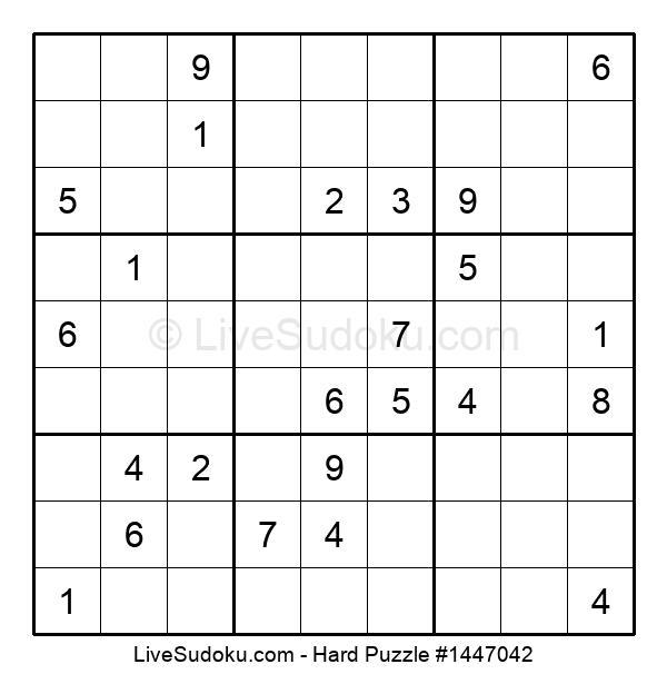 Hard Puzzle #1447042