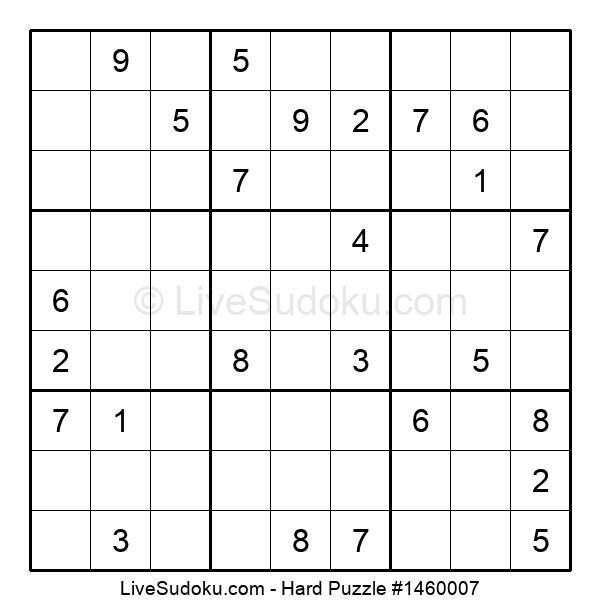 Hard Puzzle #1460007