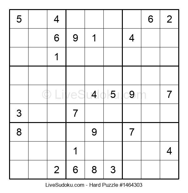 Hard Puzzle #1464303