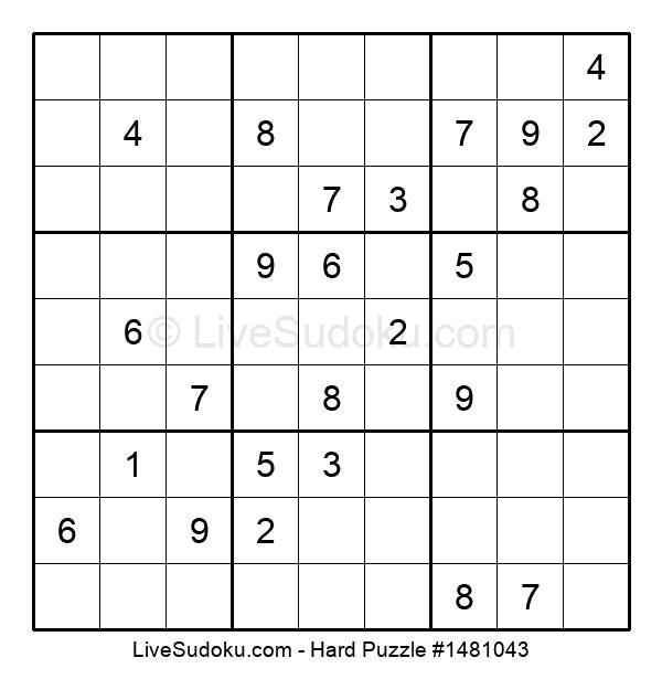 Hard Puzzle #1481043