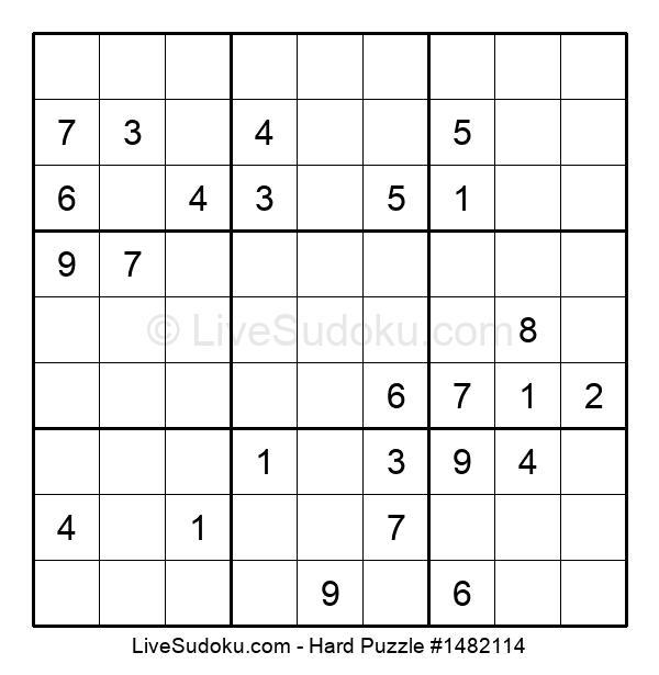 Hard Puzzle #1482114