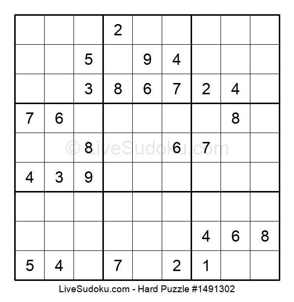 Hard Puzzle #1491302