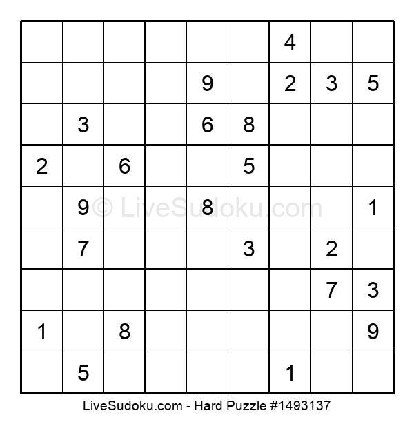 Hard Puzzle #1493137