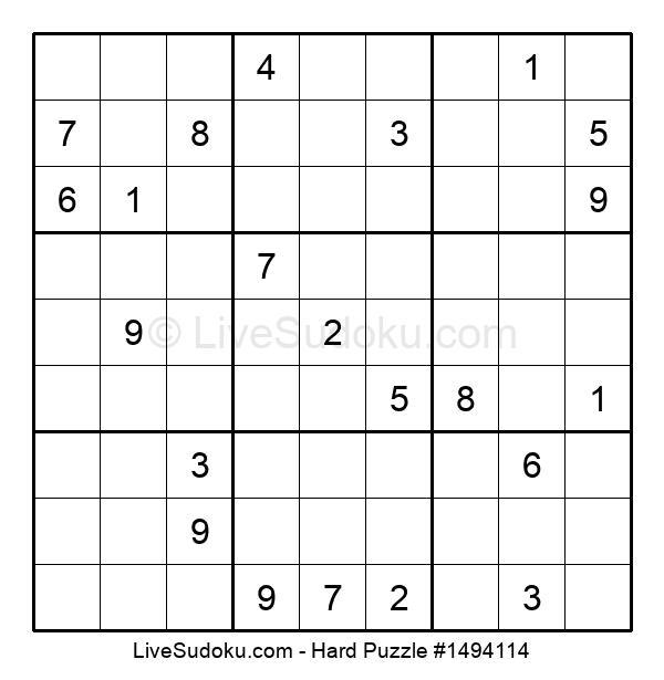 Hard Puzzle #1494114