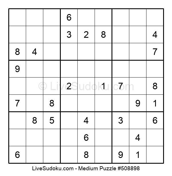 Medium Puzzle #508898