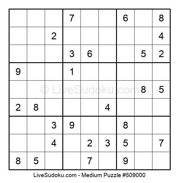 Medium Puzzle #509000
