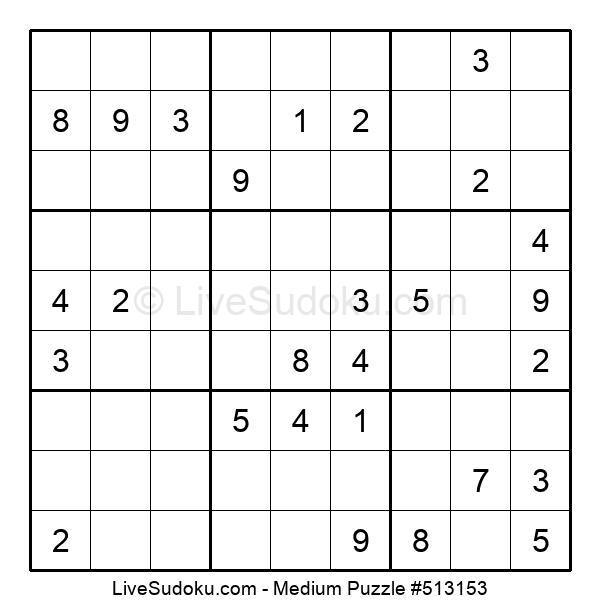 Medium Puzzle #513153