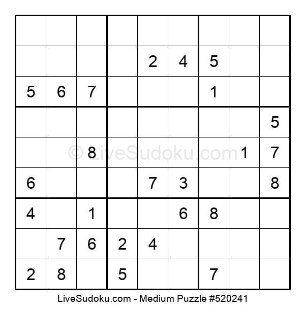 Medium Puzzle #520241
