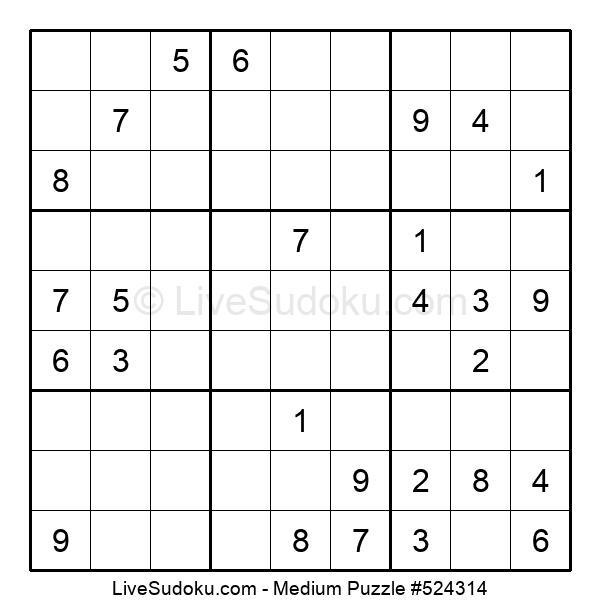 Medium Puzzle #524314