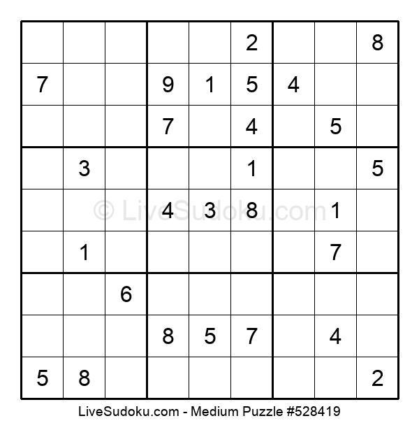 Medium Puzzle #528419