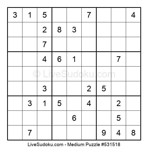 Medium Puzzle #531518