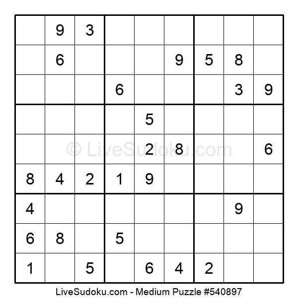 Medium Puzzle #540897