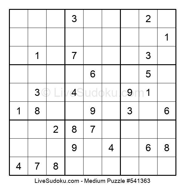 Medium Puzzle #541363