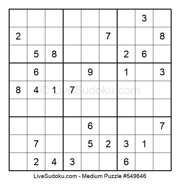 Medium Puzzle #549646